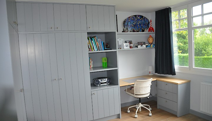 Kinderslaapkamer Kast : Slaapkamer/Dressing :: WoodDesign :: by ...